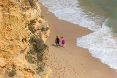 Praia DA Marinha photo stock