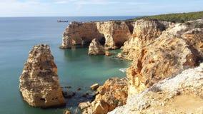 Praia DA Marinha Stock Afbeelding