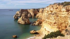Praia DA Marinha Stock Foto's