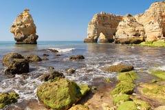 Praia da marinha in Algarve Stock Images