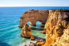 Praia da Marinha, Algavre region, Portugal. Praia da Marinha in Algavre region, Portugal Stock Photography