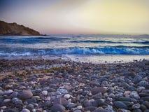 A praia da montanha Imagens de Stock