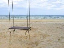 praia da paisagem com D Mim Y Cadeira Imagem de Stock Royalty Free