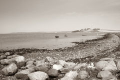 Praia da paisagem do oceano do mar Imagens de Stock