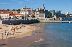 Praia da Rainha in Cascais, Portugal Royalty Free Stock Image