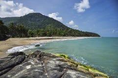 Praia 1 da represa de Khao Plai Imagem de Stock