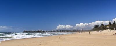 """Praia da ressaca Currimundi do †da costa da luz do sol de """" fotografia de stock"""
