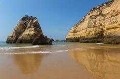 Praia da Rocha Arkivfoto