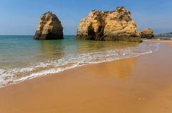 Praia da Rocha Obraz Royalty Free