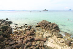 Praia da rocha fotos de stock