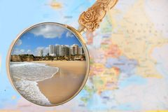 Praia DA Rocha Lizenzfreie Stockfotografie