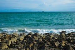 Praia da rocha Foto de Stock