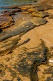 Praia da rocha Fotografia de Stock