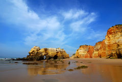 Praia da Rocha / Algarve Royalty Free Stock Images