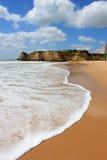 Praia da Rocha, Algarve, Portogallo immagine stock libera da diritti