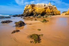 Praia da Rocha, Algarve, Portugal Royalty Free Stock Images