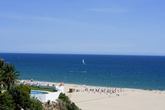 Praia da Rocha beach, Portimao, Portugal Royalty Free Stock Photography