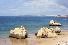 Praia da Rocha beach, Portimao, Portugal Royalty Free Stock Image