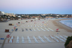 Praia da Rocha beach, Portimao, Portugal Royalty Free Stock Photos