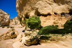 Praia da rocha beach,portugal-algarve Stock Photography