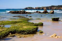 Praia da rocha beach,portugal-algarve Royalty Free Stock Photos