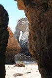 Praia da Rocha Cave Stock Image