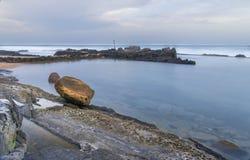 Praia da rocha de Chakas Foto de Stock Royalty Free