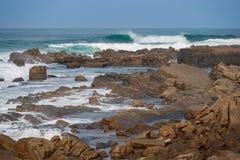 Praia da rocha de Chakas Imagens de Stock Royalty Free