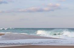 Praia da rocha de sal Imagens de Stock Royalty Free