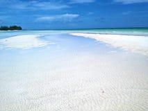 Praia da rocha do ouro Fotografia de Stock