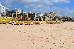 Praia da Rocha stock photography