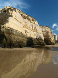Praia da Rocha in Portimao Royalty Free Stock Photography