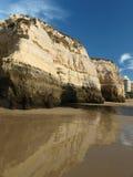 Praia da Rocha in Portimao Royalty Free Stock Photography