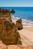 Praia da Rocha in Portimao, Algarve Stock Images