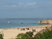 Praia da Rocha in Portimao, Algarve, Portugal Stock Photo