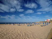 Praia da Rocha in Portimao, Algarve, Portugal Royalty Free Stock Photo