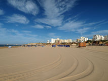 Praia da Rocha in Portimao, Algarve, Portugal Royalty Free Stock Images