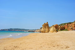 Praia da Rocha in Portimao, Algarve, Portugal Stock Photography