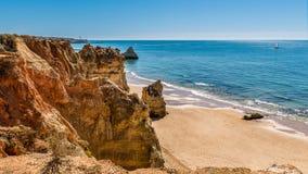 Praia da Rocha in Portimao, Algarve Stock Photo