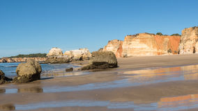 Praia da Rocha in Portimao, Algarve Stock Photos