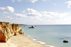 Praia Da Rocha in Portugal Royalty Free Stock Photography