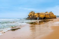 Praia da Rocha Royalty Free Stock Images