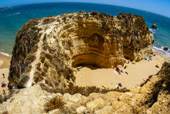 Praia da Rocha, South Portugal Royalty Free Stock Image
