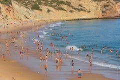 Praia DA Salema lizenzfreies stockfoto