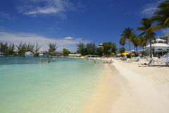 Praia da tartaruga, Jamaica Foto de Stock Royalty Free