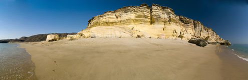 Praia da tartaruga, Oman Foto de Stock Royalty Free