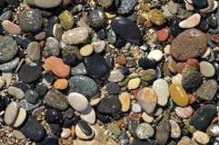 Praia da telha Imagem de Stock