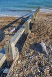 Praia da telha Fotografia de Stock
