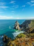 Praia da Ursa, Portugalia zdjęcia stock
