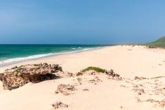 At Praia da Varandinha, Boavista, Kapverden Royalty Free Stock Images